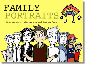 family portraits kickstarter comic
